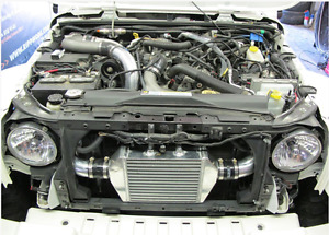 Ripp Supercharger Kit with intercooler for 3.8L wrangler  SOLD