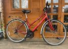 "Apollo CX10 unisex hybrid bike. 18"" frame. 700cc wheels. Working"