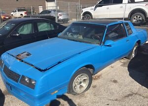 1987 Monte Carlo SS project or parts car