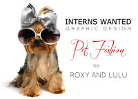 GRAPHIC DESIGN INTERNSHIP in PET FASHION