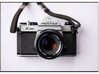 Analog / film photography for WordPress skill swap? I can provide a camera & film to get started...