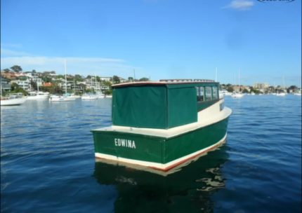Timber Power Boat - Great all round boat