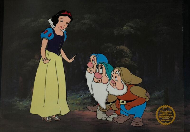 "Disney ""Snow White"" LIMITED EDITION Serigraph Cel"
