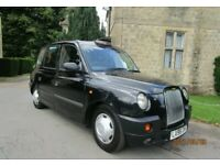 LTI LONDON TAXIS INT TX4 2.5 DIESEL AUTOMATIC BLACK LONDON TAXI CAB 1 OWNER