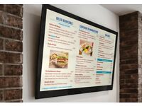 Increase your Sales use our LED Adverting Screen/ Digital Menu Board