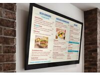 DIGITAL ADVERTISING ,DIGITAL MENU BOARD TO IMPROVE YOUR SALES