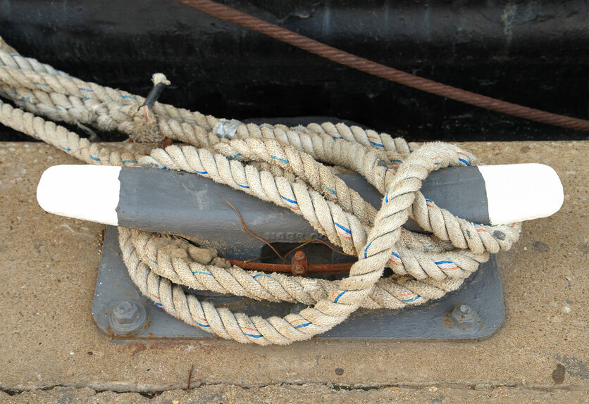 how to tie a boat to a dock cleat ebay