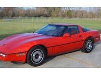 1984 Chevrolet Corvette (similar to picture) (Not the same)