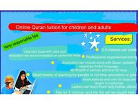 Online Arabic /Quran Tutor (kids and adults in the comfort of your home )