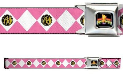 Pink Power Ranger Belt Buckle (Seat Belt Buckle for Pants Men Women Kids Power Rangers Pink)
