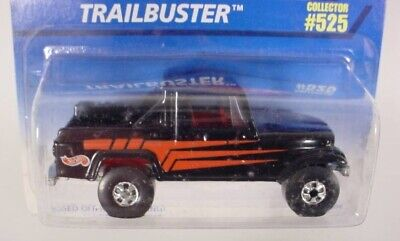 HOT WHEELS COLLECTOR # 525  JEEP SCRAMBLER TRAILBUSTER