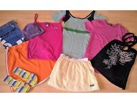 Ladies Designer Branded Mixed Bundle of Sports Wear (mixed items see pics) Size 12/14 ex con