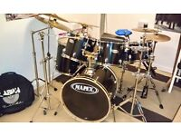 Mapex 6 Piece Drum Kit (lots of extras)