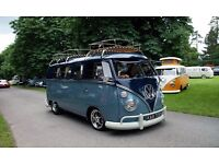 VW Splitscreen available for that special day ,