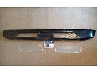 SMART FORTWO REAR VALANCE SPOILER CARBON FIBRE WITH MESH TO FIT 451 MODEL NEW UNUSED