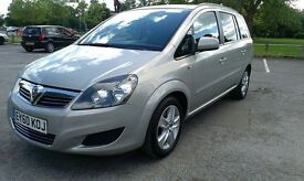 2010 7 SEATER VAUXHALL ZAFIRA. 1.7CDTI ,FULL SERVICE HISTORY,HPi CLEAR,CHEAPEST ON INTERNET,BARGAIN