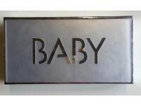 'Burn Baby Burn' Glitter Kit and Stencils, Laser Glitter, a paint brush & glue