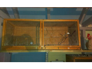 Various  bird.rabbit.rodent cages for sale from wildlife rescue