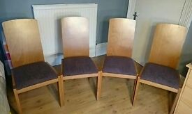 4 x dining room/living room chairs.