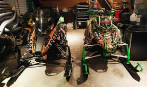 Motoneiges Arctic Cat M800 + F1100
