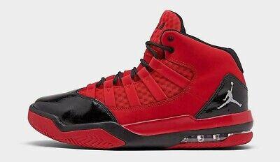 JORDAN MAX AURA $120 Men's Basketball shoes AUTHENTIC NEW CU4929 600 Red Black