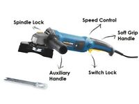 Workzone 1200W Angle Grinder Variable Speed Control