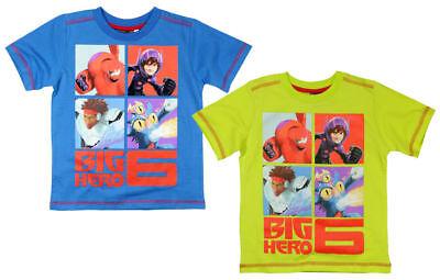 Disney Big Hero 6 Kinder Jungen kurzarm T-Shirt Gr. 104-134 Shirt Pullover neu! ()