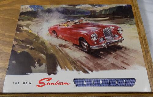 c1954 SUNBEAM ALPINE Automobile Brochure