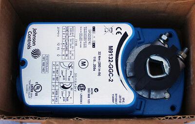 New Johnson Controls M9132-ggc-2 Non-spring Return Motor Actuator 280 In-lb 32nm