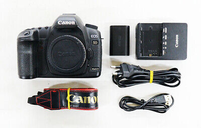 "# Canon EOS 5D Mark II 21.1MP Digital SLR Camera - Black  ""66492 cut"" S/N 5134"