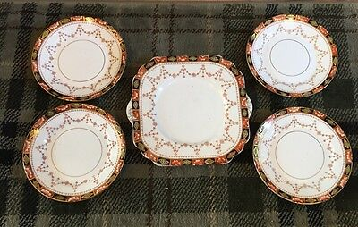 Lovely Gladstone China Art Nouveau China Sandwich Set