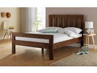 Double Bed Frame - Dark Stain - Argos Collection Chile