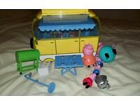 £5 Peppa pig camper van and figures. Pick up only hd3 4tl