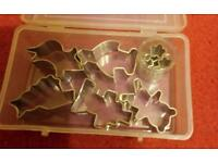 Animal and flower shaped cutters