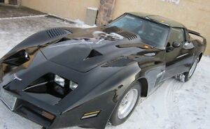 1980 Chevrolet Corvette convertible; heavily modified