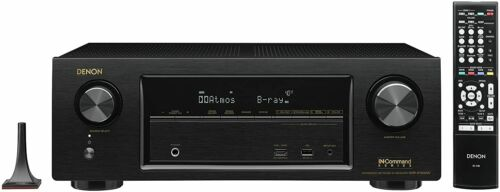 Denon AVR-X1300W 7.2 Channel Full 4K Ultra HD AV Receiver with Bluetooth