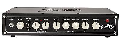 Fender Rumble 500 Head V3 - E-Bass Topteil