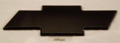 04-12 Chevy Colorado BLACK POWDER COATED Billet Bowtie Grille Emblem AMI 96042K Black Powder Coated Chevy