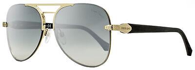 Roberto Cavalli Aviator Sunglasses RC1091 Monteroni 32C Gold/Rubberized Black 60