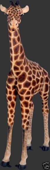 Giraffe Statue - Baby Giraffe Statue - Life Size Baby Giraffe Statue - 5.7 FT
