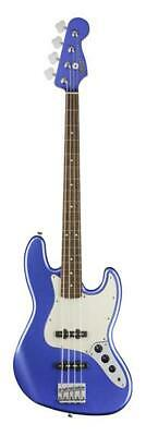 Fender Squier 0370400573 Comtemporary Jazz Bass Guitar, Ocean Blue Metallic