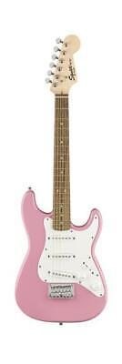 Fender Squier 0370121570 Mini Stratocaster V2 6 String Electric Guitar, Pink