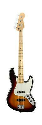 Fender 0149902500 Player 4 String Electric Jazz Bass Guitar, 3 Color Sunburst
