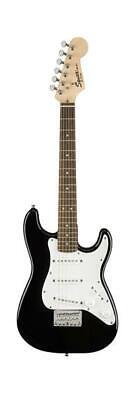 Fender Squier 0370121506 Mini Stratocaster V2 6 String Electric Guitar, Black