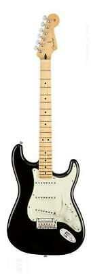 Fender 0144502506 Player Stratocaster Electric Guitar, Black