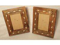 Wooden Frames x 2