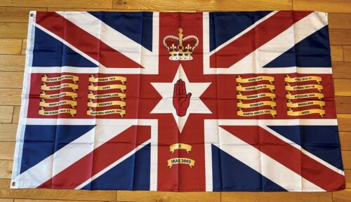 Irish Guards Regimental Colours Army British GB UK