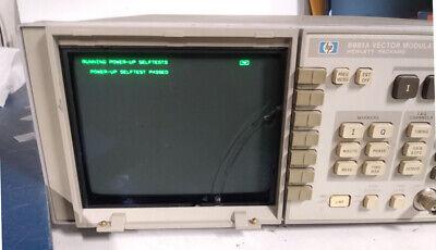 Hp Agilent 8981a 50-200mhz Vector Modulation Signal Analyzer Whp-ib Ori