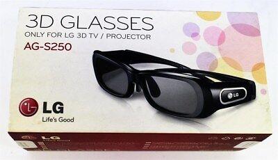 LG 3D Active Shutter Glasses for 3D Plasma TV/ Projector | AG-S250