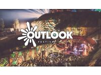 Outlook VIP festival ticket 2018
